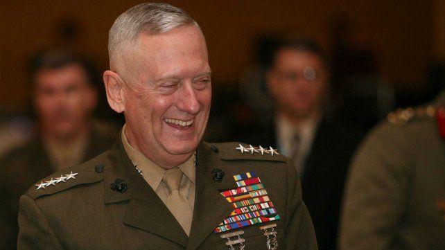 El nuevo ministro americano de Defensa James Mattis.