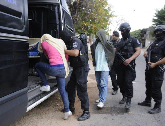 Procedimiento antinarco. Otro policía santafesino aparecen vinculado al tráfico de drogas. (Foto: S. Toriggino).