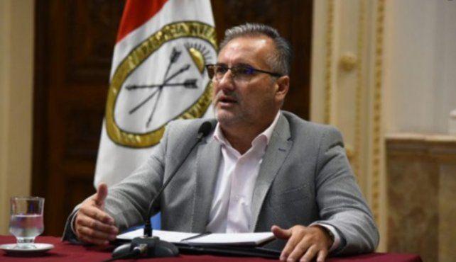 El senador provincial por el departamento Rosario