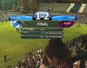 Tigre se lo dio vuelta a Quilmes y sacó buena ventaja en la tabla de los promedios