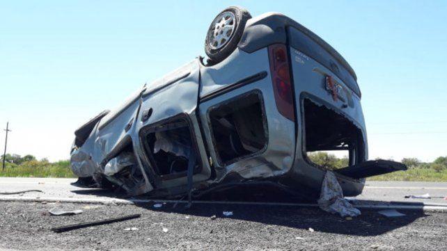 Los seis ocupantes del vehículos tenían su domicilio en La Matanza