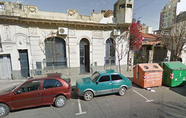 La sede local del IOSE en calle España al 1500. (Foto: captura de Street View)