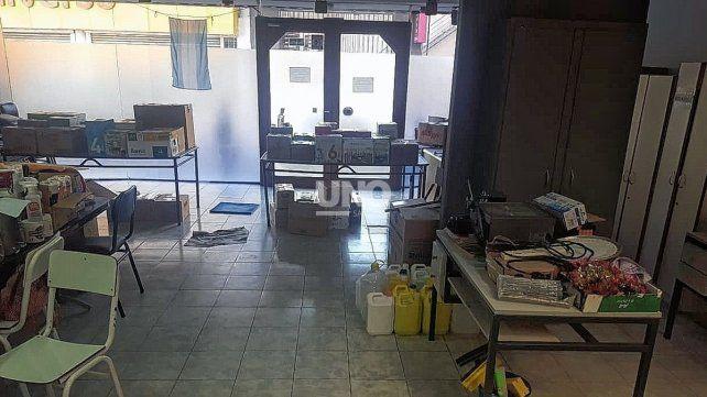 Instituto Almirante Guillermo Brown. El anexo funciona en pleno centro santafesino. El contrató de alquiler finaliza a finales de abril. Crece la incertidumbre de docentes