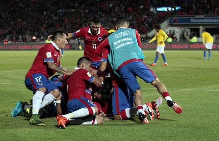 Otro que rompió el Prode: Chile derrotó 2 a 0 a Brasil