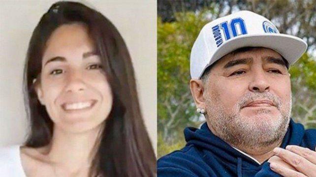 Magalí no es Maradona. Magalí es realmente ciento por ciento hija de Diego