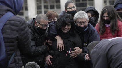 Matías Nahuel Paredes, asesinado a balazos el domingo, fue enterrado en el cementerio La Piedad