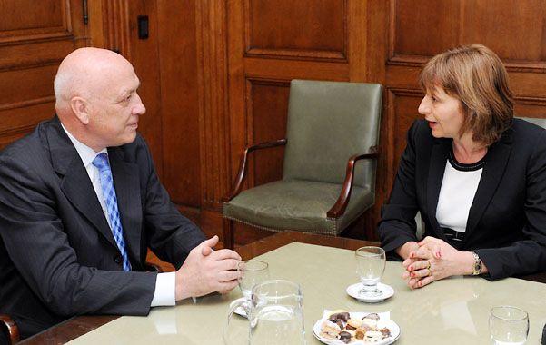 El gobernador santafesino salió satisfecho de su encuentro con la procuradora General de la Nación.