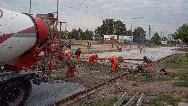 Avanza la primera etapa de la remodelación de la avenida Jorge Newbery