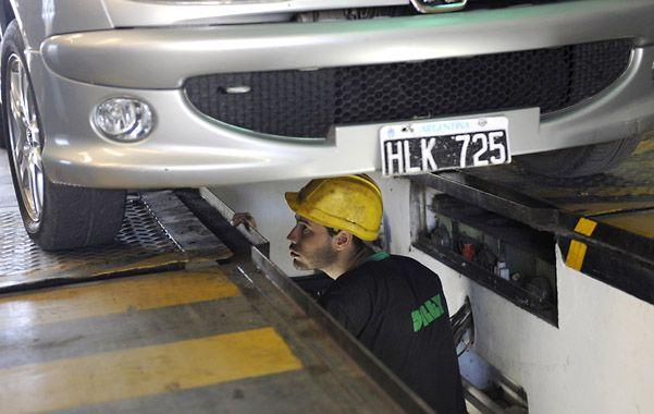 A full. Por estos días se trabaja con intensidad en el centro de inspección ubicado en Francia al 5800.