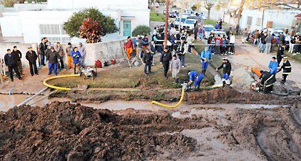 Admiten una falla en la seguridad de la obra donde murieron dos operarios