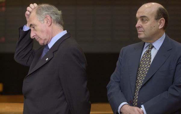 El ex presidente declaró en el juicio que se le sigue al padre de la convertibilidad