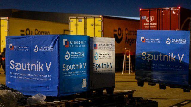 Este martes arribarán más de 709 mil dosis de los componentes 1 y 2 de la vacuna rusa Sputnik V.