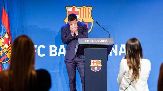 La Pulga vivió una emotiva despedida de Barcelona.
