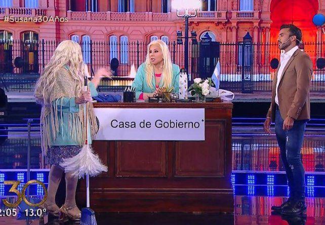 Poroto Cubero recordó junto a Susana cuando le propuso casamiento a Nicole