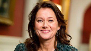 """La actriz Sidse Babett Knudsen interpreta a la primera ministra de Dinamarca en la serie """"Borgen""""."""