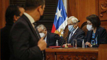 El presidente Piñera participó del acto.