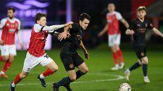 El City evitó el papelón ante el Cheltenham en la FA Cup