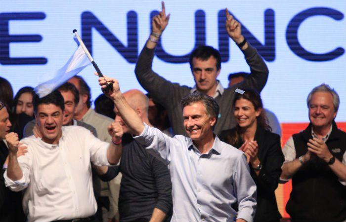 Mercados. Macri les dio una alegría.