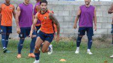 Ex canalla. El Chino Vizcarra se ilusiona con poder jugar ante Victoriano Arenas .