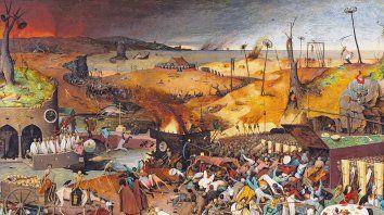 """""""El triunfo de la muerte"""", de Pieter Brueghel, llamado el Viejo (1525-1569)."""