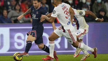 Messi juega su segundo partido en PSG por Ligue 1 luego de los 25 minutos ante Reims en el triunfo 2-0.
