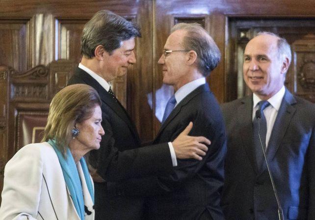 Horacio Rosatti y Carlos Rosenkrantz abrocharon un acuerdo que desató la crítica de Ricardo Lorenzetti.