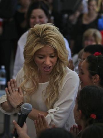 Shakira en Jerusalén
