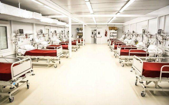 El Hospital Modular de Baigorria se prepara para recibir más pacientes con coronavirus