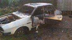 Paraná: vehículo ardió en llamas en calle Provincias Unidas