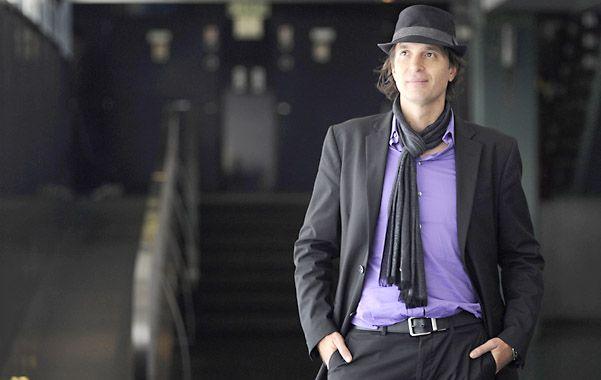 De paso. López Peralta estuvo en Rosario para participar del Segundo Congreso de Sexología.
