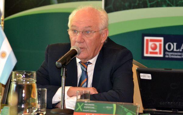 Cumbre. Lamberto presentó las conclusiones de un relevamiento realizado por especialistas de distintos países.