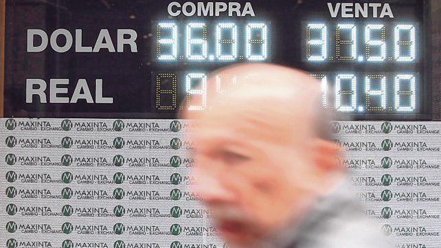 Mercado cambiario. El dólar tuvo un leve repunte ayer