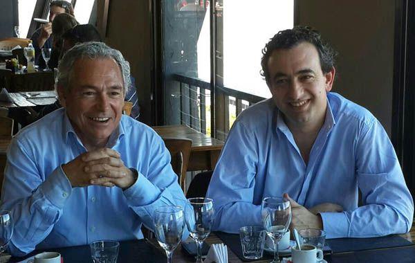 Barletta y Javkin acordaron acciones comunes en defensa de la provincia.