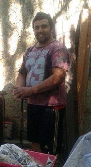 victima. Juan Ayala tenía 35 años y fue asesinado frente a su casa.