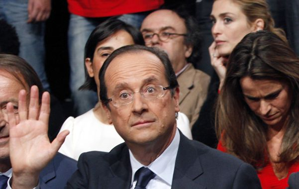 Firmeza. Hollande durante la conferencia de prensa del martes.
