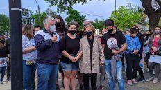 La familia agradeció el apoyo, recordó a la joven militante y pidió acompañamiento para exigir la verdad sobre lo ocurrido. (Fotos gentileza: Portal Pellegrinense)
