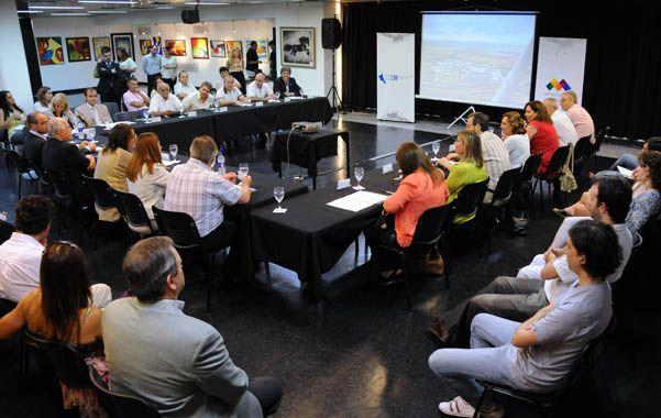 Espacio de debate. El Ente Metropolitano congrega a 21 municipios.