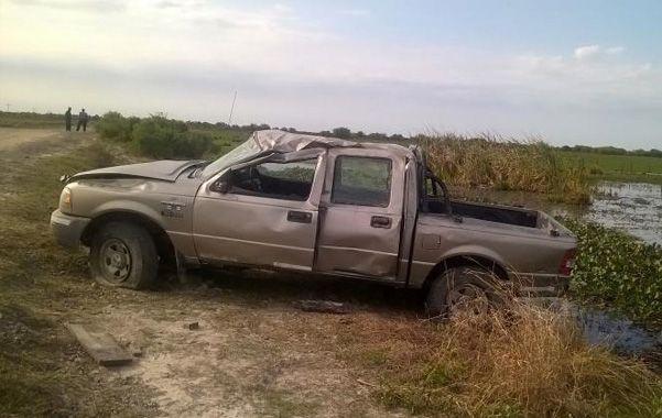 Alejandro Pizarro desapareció el 1º de este mes. La camioneta siniestrada era de propiedad de una familia amiga