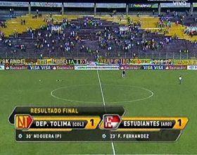 Libertadores: Estudiantes igualó en Colombia y logró la clasificación a octavos