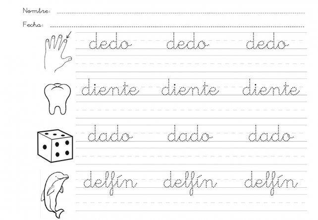 La escritura cursiva