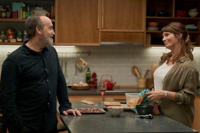 Javier Cámara y Griselda Siciliani en una escena del filme.