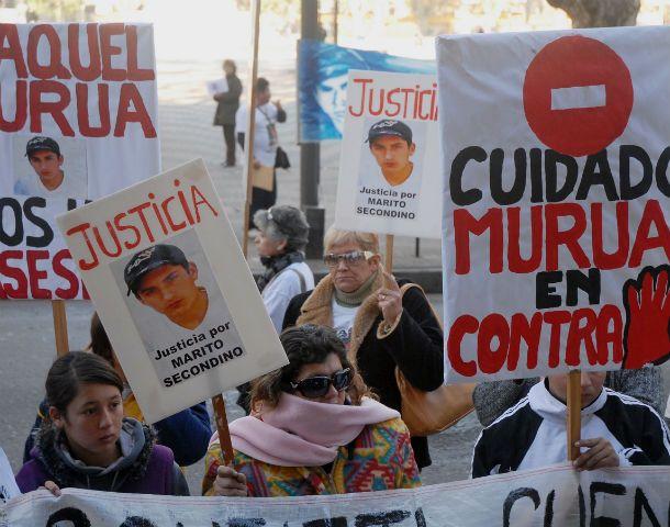 En las numerosas marchas en reclamo de justicia se denunciaron irregularidades investigativas.