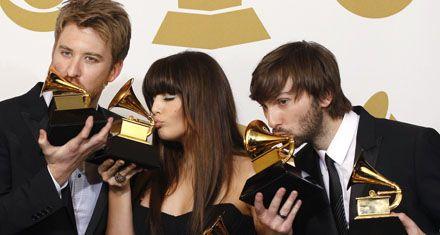 El gran ganador de los Grammy fue el trío de country Lady Antebellum