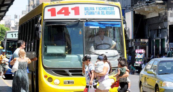 Bermúdez pidió la tarifa de colectivo a 2,50 y dijo que es enemigo de los subsidios