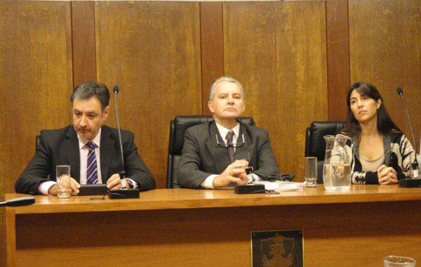 Los jueces Javier Prado