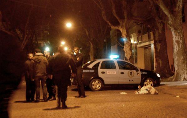 El joven cayó muerto en Chacabuco
