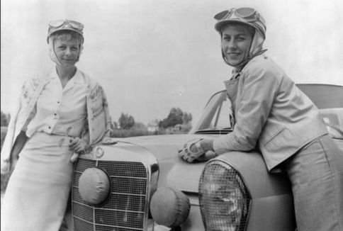 Por varios cuerpos las suecas Ewy Rosqvist y Ursula Wirth vencieron en 1962, en el Gran Premio argentino.