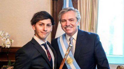 Dyhzy, el hijo de Alberto Fernández: Voy a cambiar mi DNI, soy una persona no binaria