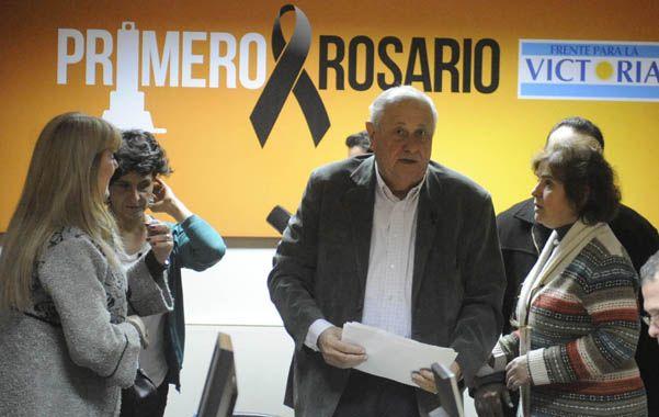 Conforme. El Tigre se mostró satisfecho con su performance electoral. (foto: Gustavo de los Ríos)