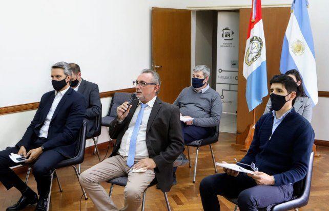 La provincia presentó Santa Fe de Pie a entidades productivas